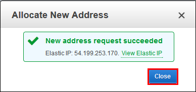 New-address-request-succeeded